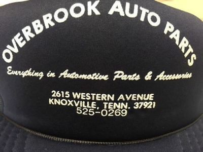 Vintage Collectible Ball Cap Overbrook Auto Parts Knoxville, TN 1991