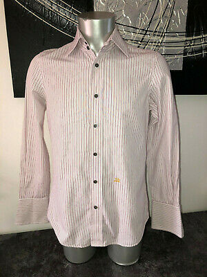 Luxurious Shirt Striped DSQUARED2 Size 48 (S) Mint