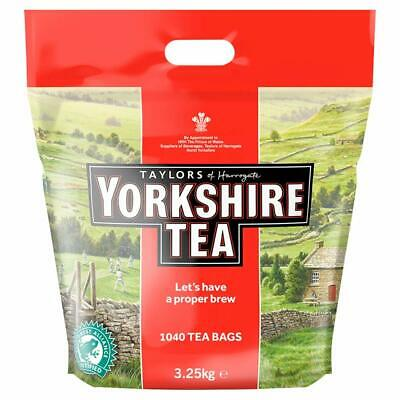 Taylors Yorkshire Tea 1040 Pack Proper Brew Strong English Tea Same Day Dispatch