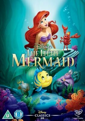 The Little Mermaid Disney Dvd  - White Classics Numbered