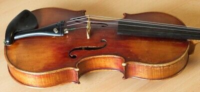 "Very old labelled Vintage violin ""Pollastri Gaetano""小提琴 скрипка ヴァイオリンGeige 1044"