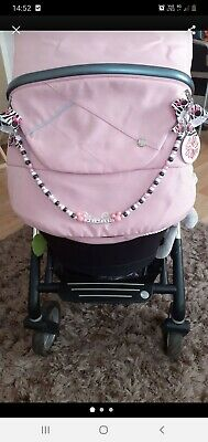 💎Personalised Pram Charms Made To Order💎💎PLUS FREE MATCHING DUNNY CLIP💎