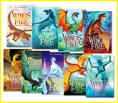Wings of Fire 1-12 Books Set By Tui T. Sutherland ||E-B0K||