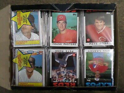 1986 Topps BASEBALL Unopened 24 PACK RACK BOX