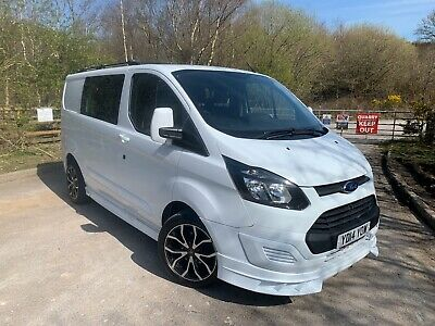 Ford Transit Custom Crew Cab 2014 swb SPORT rep 270 ECH-TECH NO VAT!!