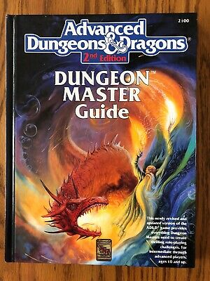 NM! DUNGEON MASTER GUIDE 1993 Dungeons & Dragons 2nd Ed HB