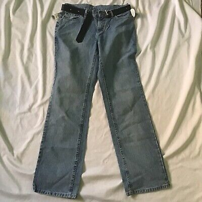 Riveted By Lee Low Rise Jeans Womens Size 10 Long Low on Waist Straight Leg