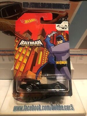 Hot Wheels 75 Years of Batman Anniversary The Brave and the Bold Batmobile 8/8