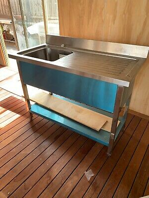 Sink Bench Stainless Steel Single  Left Hand Bowl