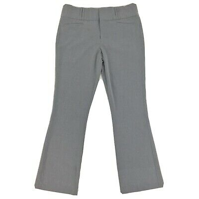 EUC XOXO Grey Dress Career Work Pants Women's Size 13/14 (Actual 34x30)