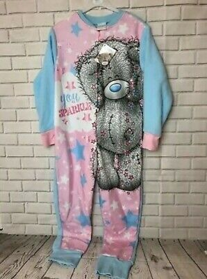 Girls Me To You Tatty Teddy All In One 1Onsie Sleepsuite Age 5-6 Years *Sparkle*