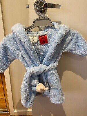 Royal Doyon Baby Boy Dressing Gown Baby Blue 00