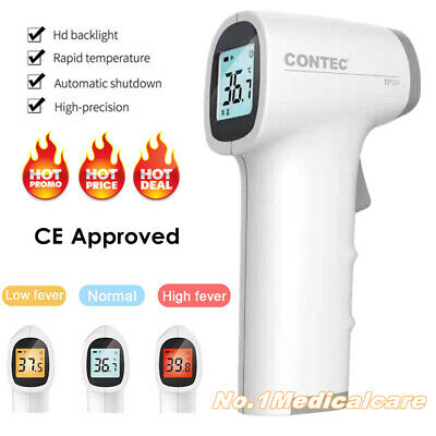 LCD Digital IR Infrared Thermometer forehead Gun fever Temp Meter Non Contact
