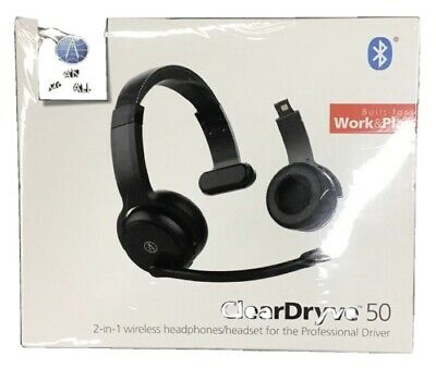 Rand McNally ClearDryve 50 2-in-1 wireless Headphones/Headset | Brand New In Box