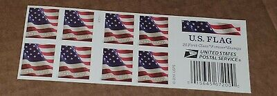 One Book Of 20 U.s. Flag 2016 Usps First Class Forever Postage Stamps #P1111
