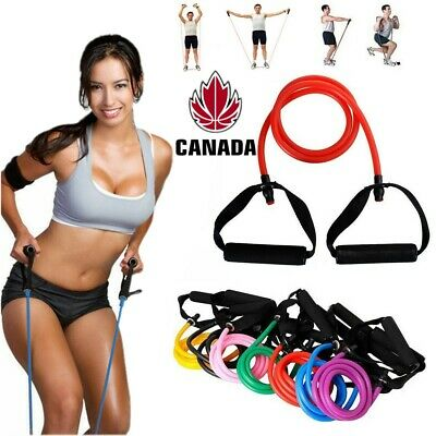 Yoga Elastic Resistance Bands Stretch Loop Exercise Gym Training Fitness Workout