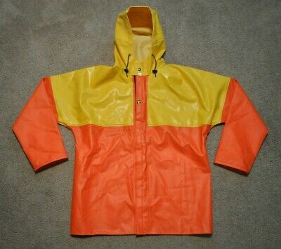 LARGE SEA FISHING L GUY COTTEN SHORT SMOCK WITH HOOD