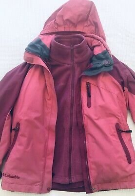 Columbia 3in1 Jacket Girls 10-12