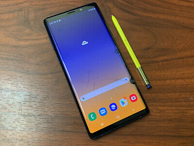 Samsung Galaxy Note 9 SM-N960U1 - 128GB - Ocean Blue (Unlocked) READ DESCRIPTION