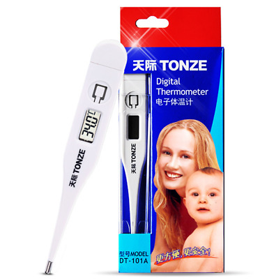 Electronic LCD Thermometer Digital Baby Adult Medical Thermometre Body Fever