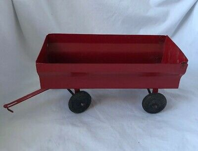 Vintage ERTL Toy MASSEY-FERGUSON ? Tractor WAGON Made In USA 1:16 Scale
