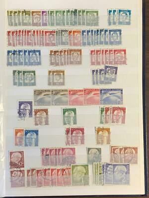 L4621 Germany Stamps Collection  Lot Album Included!