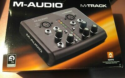 M Audio M-Track USB audio interface