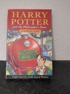 HARRY POTTER and The Philosophers Stone 1st Edition 47th Print Paperback