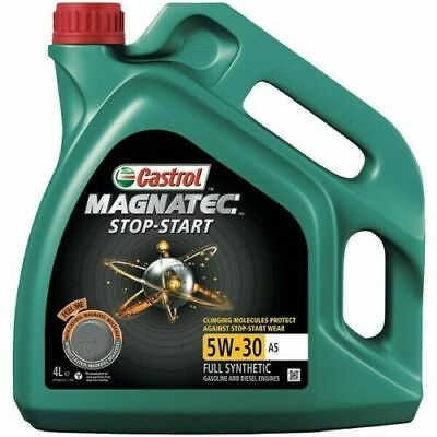 Castrol Magnatec Stop-Start 5W-30 A5 Fully Synthetic Engine Oil 5W30 4 LITRES 4L