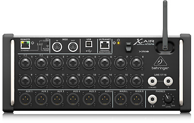 Behringer XR18 X Air Digital Mixer for iOS, Android, Mac & PC