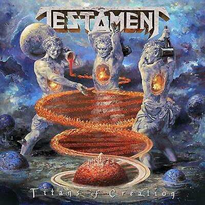 Testament Titans of Creation CD NEW FREE SHIPPING 2020 NEW FREE preorder
