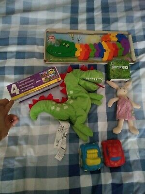 Baby Toddler Toy Bundle Games Teddy Puzzles