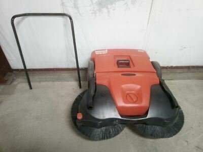 Bissell Commercial BG497 38 In Cleaning Path 13.2 Gal Cap Walk Behind Sweeper