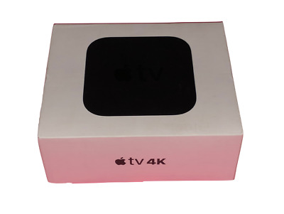 Apple TV (5th Generation) 4K HD Media Streamer (MP7P2LL/A) - No Power Cord