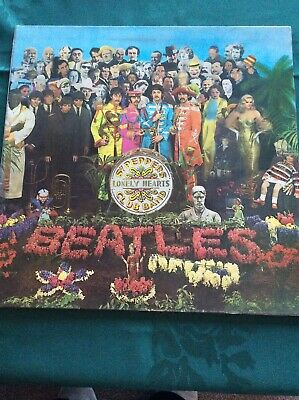Beatles   SGT Peppers Lonely Hearts Club Band Parlophone PCS 7027