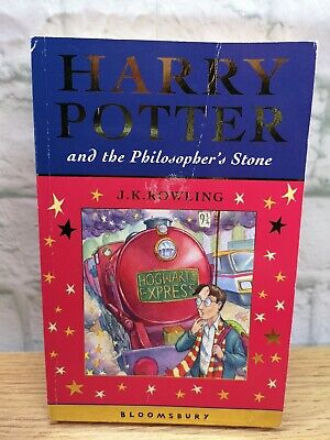 Harry Potter and the Philosopher's Stone (1997, Paperback) 1st Edition 1st Print