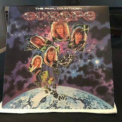 Europe 2 LP Original Lot- The Final Count Down (VG) and Out Of This World (EX)