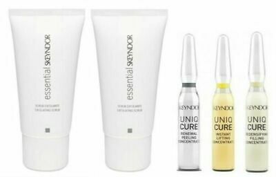 Exfoliante Scrub Exfoliant 50ML Essential Line + 3 X Concentre 2ML Skeyndor