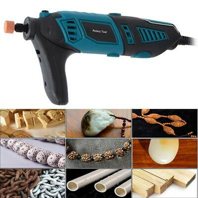 220V 170W Electric Drill Speed Adjustable Grinding Polisher Set 8000-35000rpm