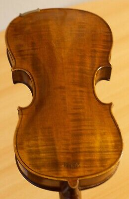 "Very old labelled Vintage violin ""E.Tom. Carcassi"" fiddle 小提琴 Geige 1056"
