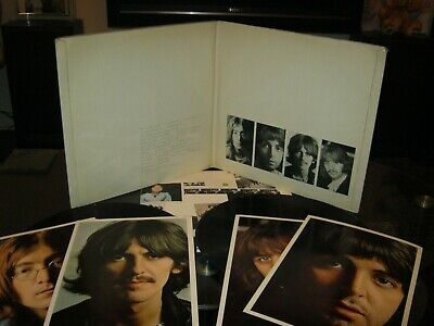 the beatles 1968 white album mono complete number 0147678 1st uk press