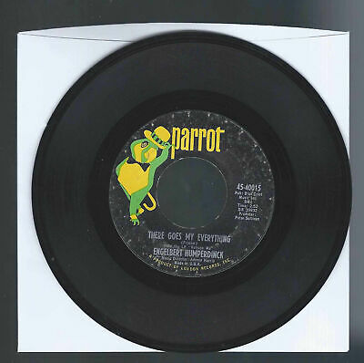 Engelbert Humperdinck THERE GOES MY EVERYTHING / YOU LOVE - 45 RPM record