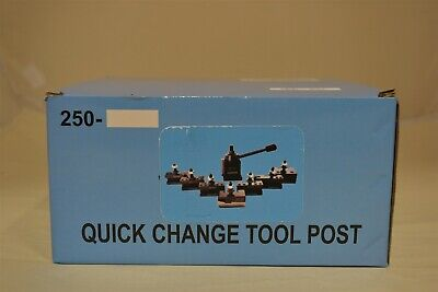 Accusize Industrial Tools 8pc Wedge Type Quick Change Tool Post Set [0251-0118]