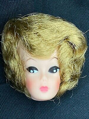Vintage NOS New Old Stock CLONE Barbie Doll HEAD ONLY Nice High Colour