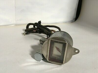 Rare 1937 Chrysler Original Mopar Dash Clock 37