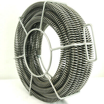 """BLUEROCK 7/8"""" x 45' Sectional Pipe Drain Cleaning Cable Carrier fits RIDGID K60"""