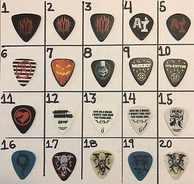 New Years Day Tour Guitar Pick #6