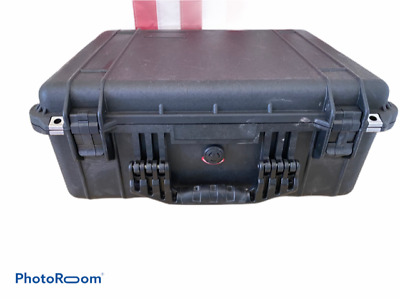 Pelican 1550 Case With lid organizer  (Black)