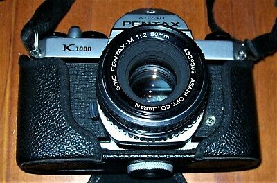 """""""Vintage Pentax K1000 Camera"""" C1976 , Excellent Pre-Owned Working Condition !"""