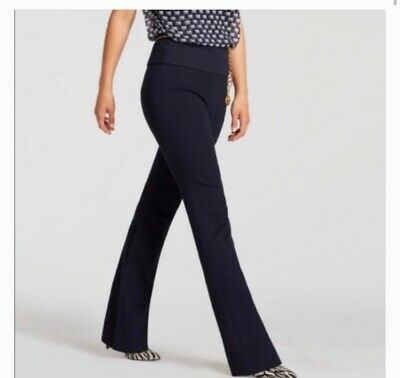 CAbi 5312 Classic Navy Blue 9 to 5 Trouser Pants Size 4 Career Work Wear